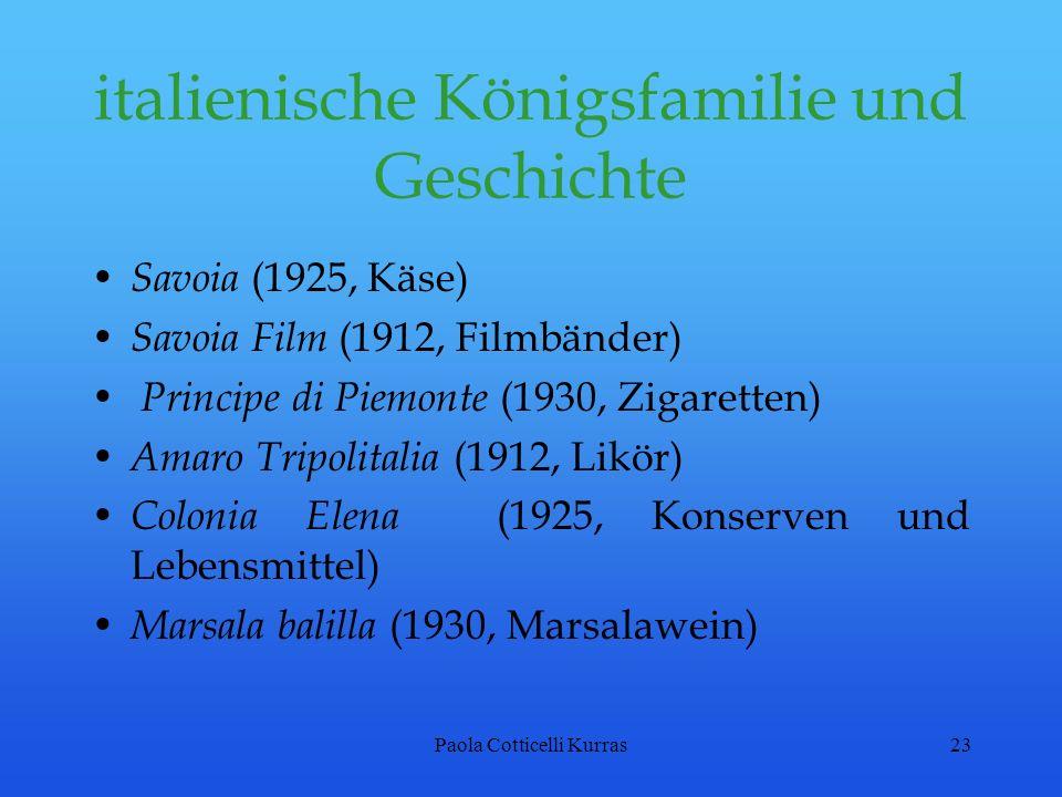 italienische Königsfamilie und Geschichte