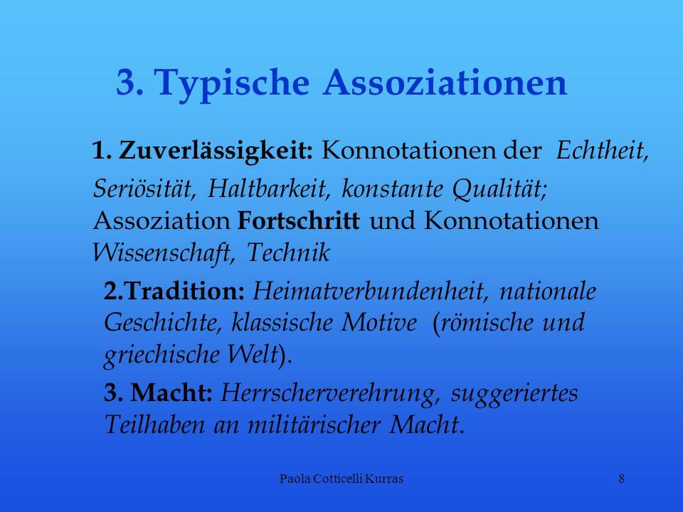3. Typische Assoziationen