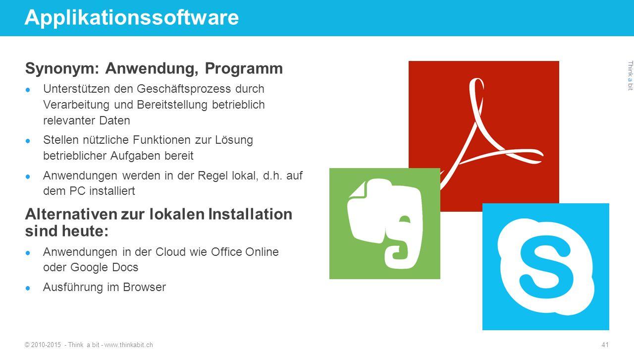 Applikationssoftware