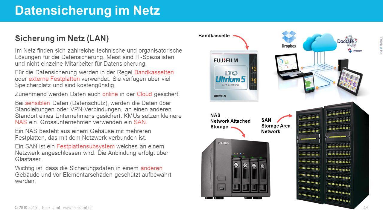 Datensicherung im Netz
