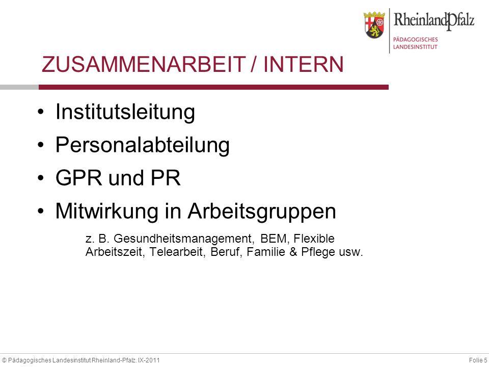 ZUSAMMENARBEIT / INTERN
