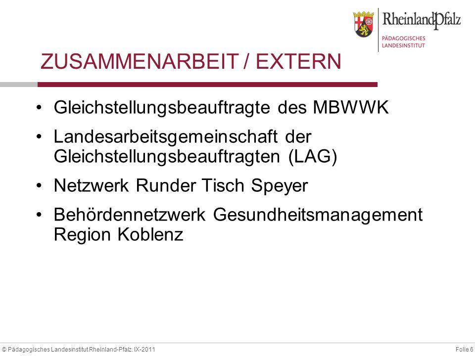 ZUSAMMENARBEIT / EXTERN