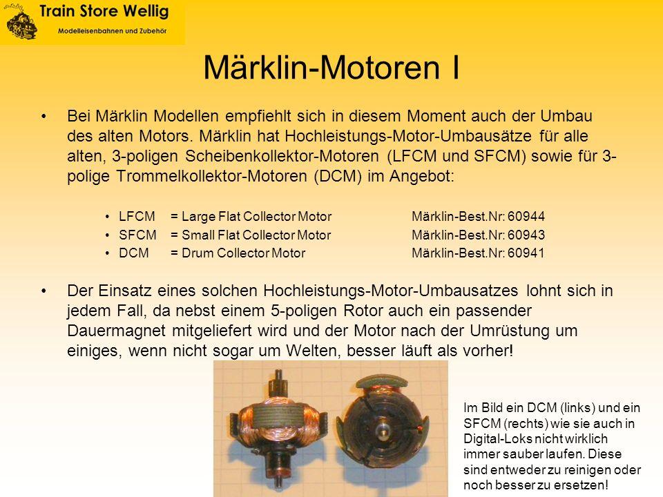 Märklin-Motoren I