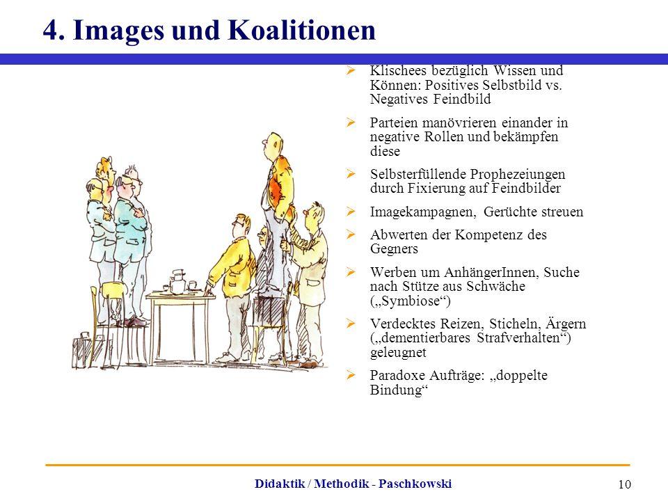 4. Images und Koalitionen