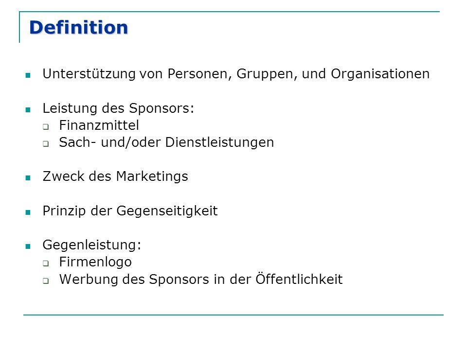 Definition Unterstützung von Personen, Gruppen, und Organisationen