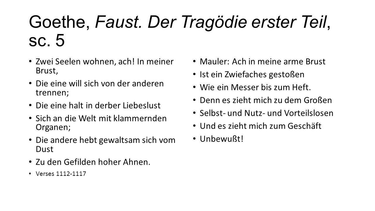 Goethe, Faust. Der Tragödie erster Teil, sc. 5