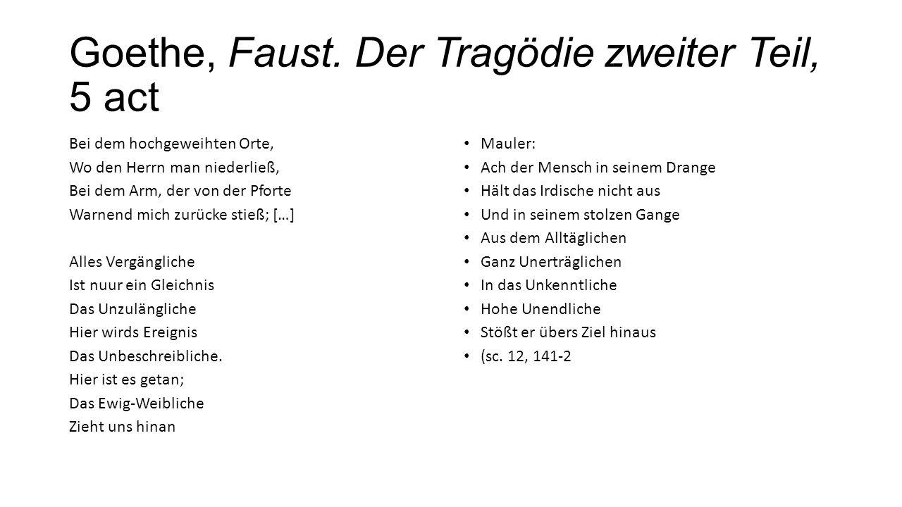 Goethe, Faust. Der Tragödie zweiter Teil, 5 act