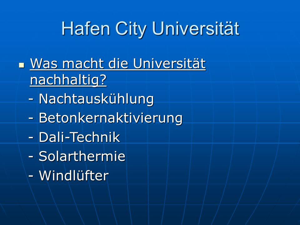 Hafen City Universität