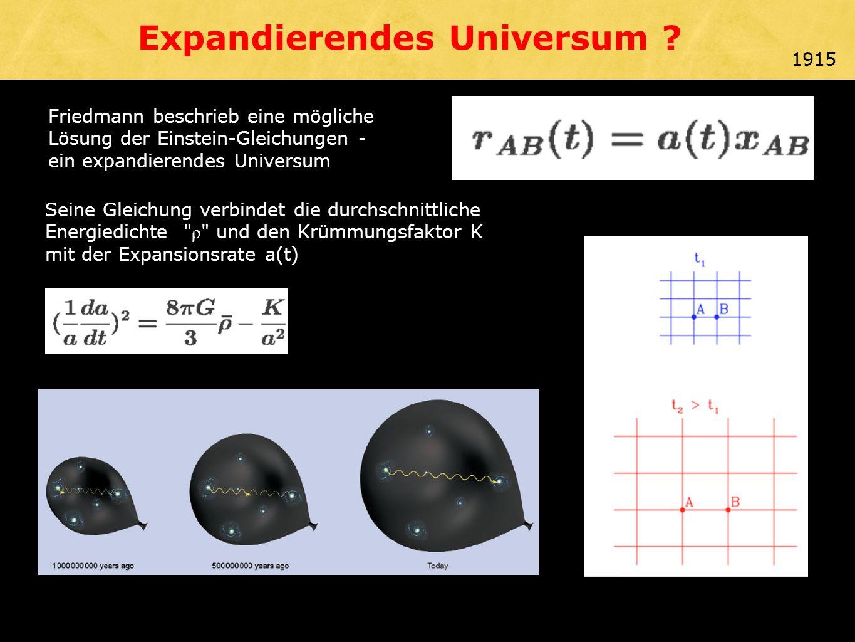 Expandierendes Universum