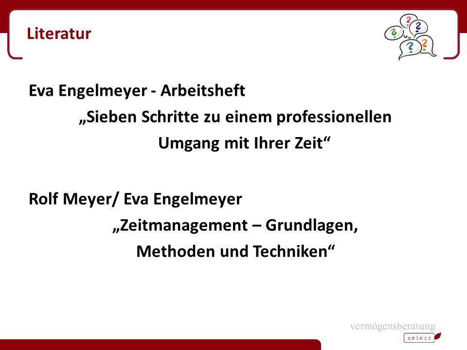"""Eva Engelmeyer - Arbeitsheft """"Sieben Schritte zu einem professionellen"""