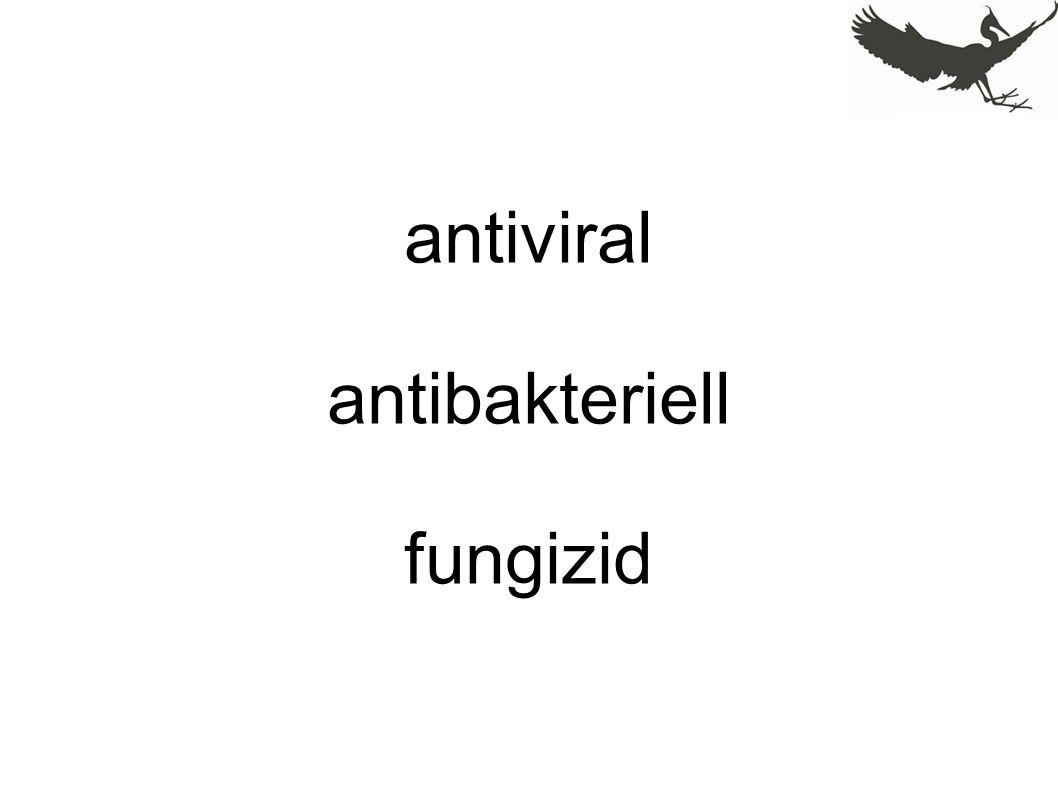 antiviral antibakteriell fungizid