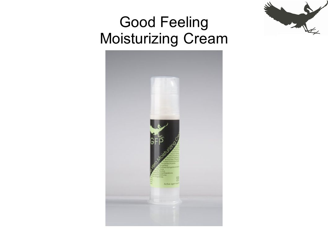 Good Feeling Moisturizing Cream