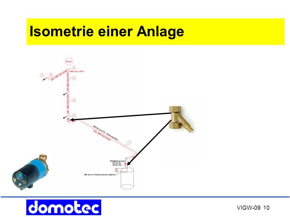 Isometrie einer Anlage