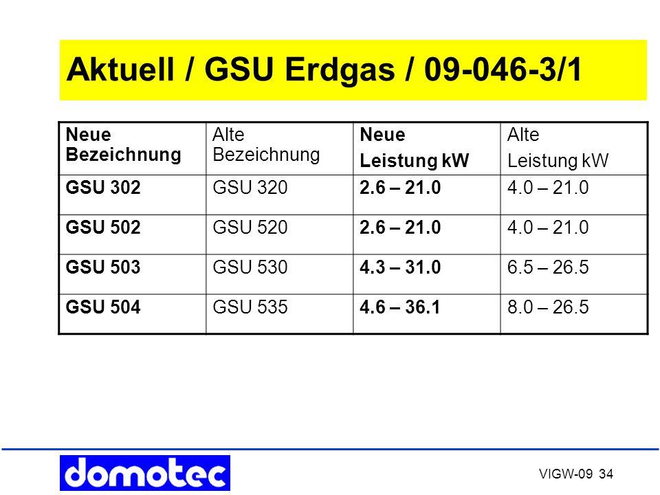 Aktuell / GSU Erdgas / 09-046-3/1