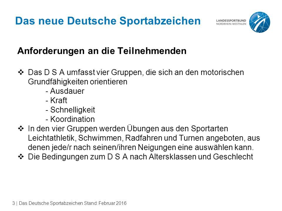Das neue Deutsche Sportabzeichen