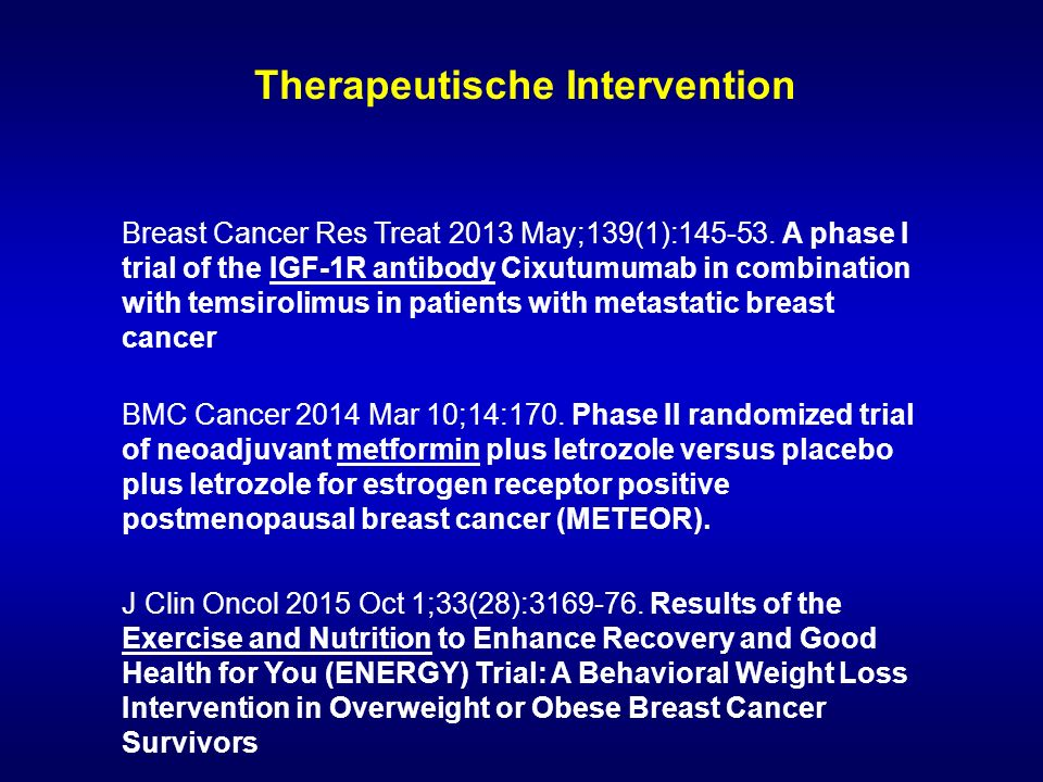 Therapeutische Intervention