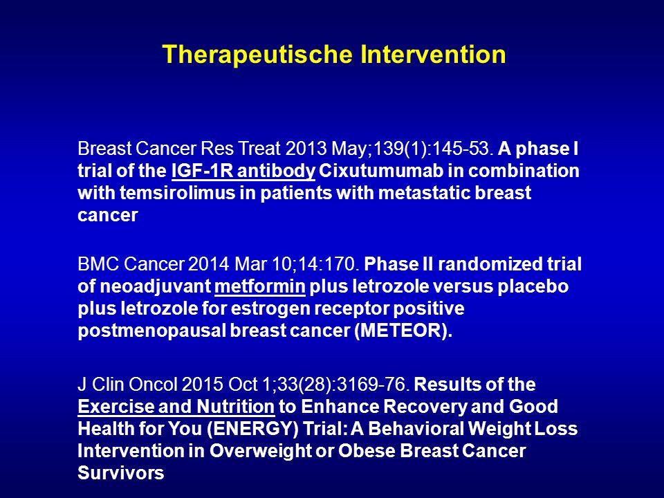 Therapeutische Intervention