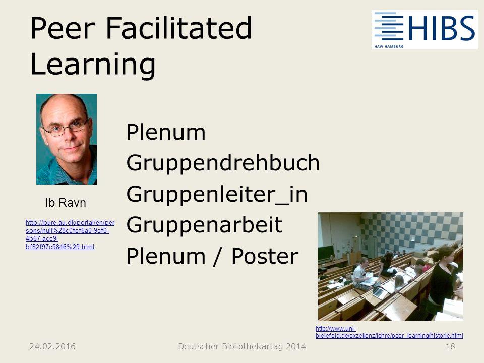 Peer Facilitated Learning