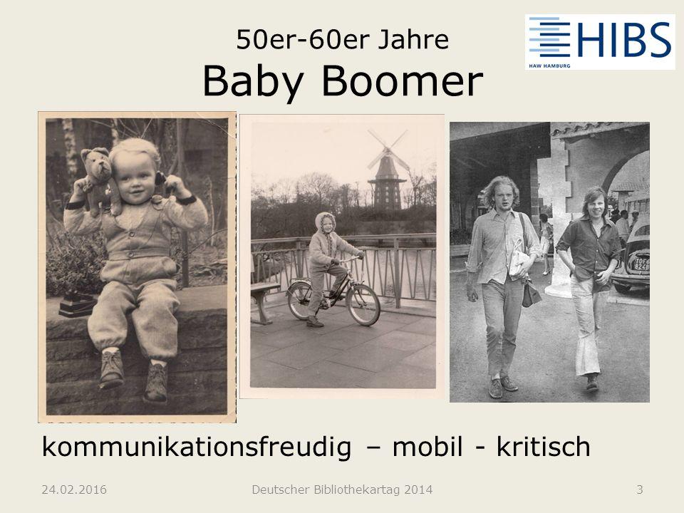 50er-60er Jahre Baby Boomer