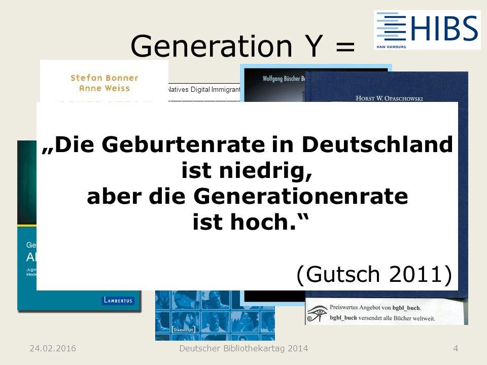 aber die Generationenrate
