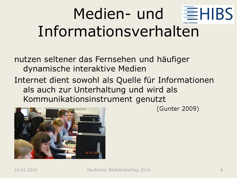 Medien- und Informationsverhalten