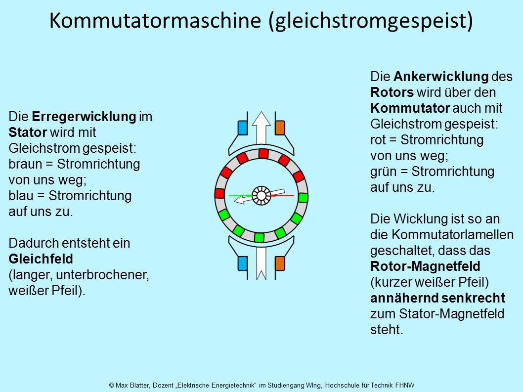 Kommutatormaschine (gleichstromgespeist)