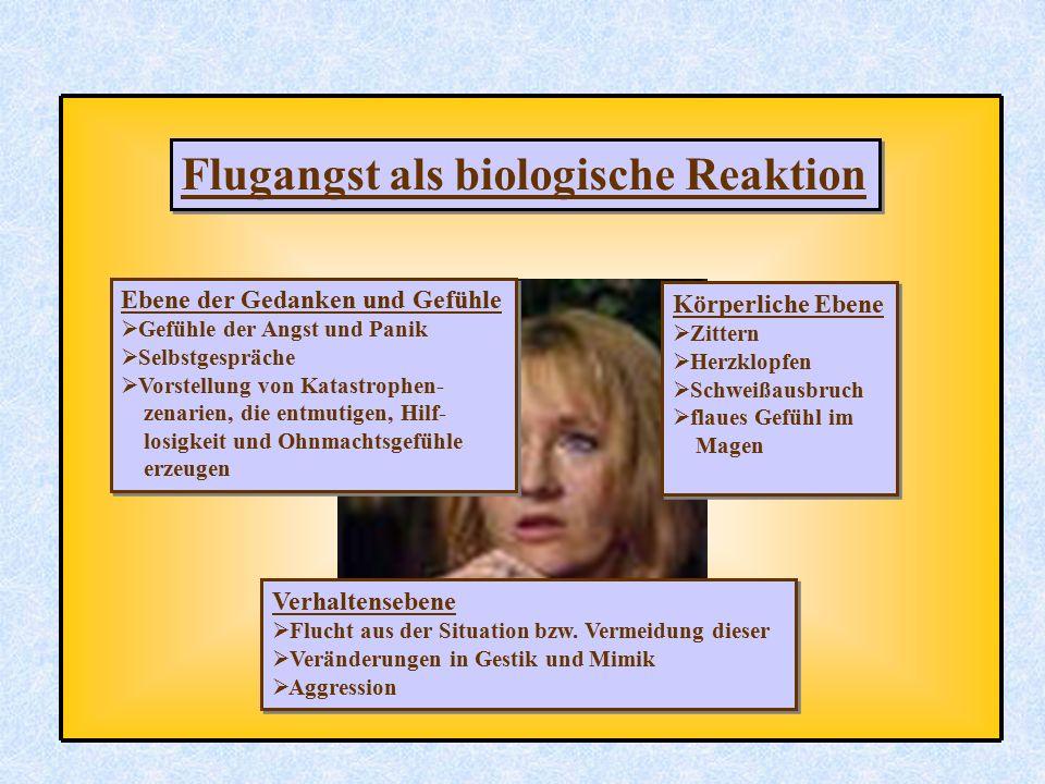 Flugangst als biologische Reaktion