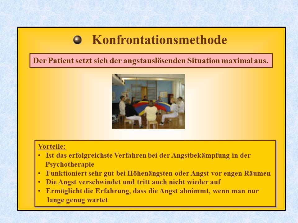 Konfrontationsmethode