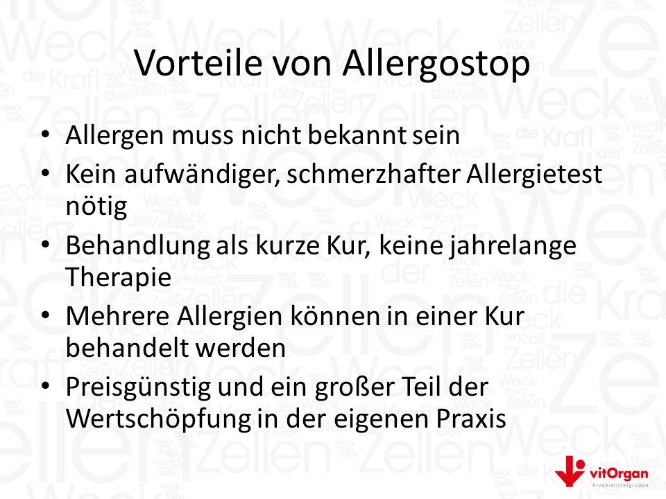 Vorteile von Allergostop