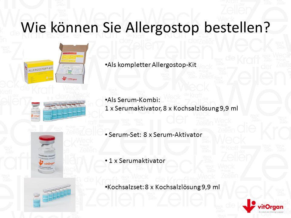 Wie können Sie Allergostop bestellen