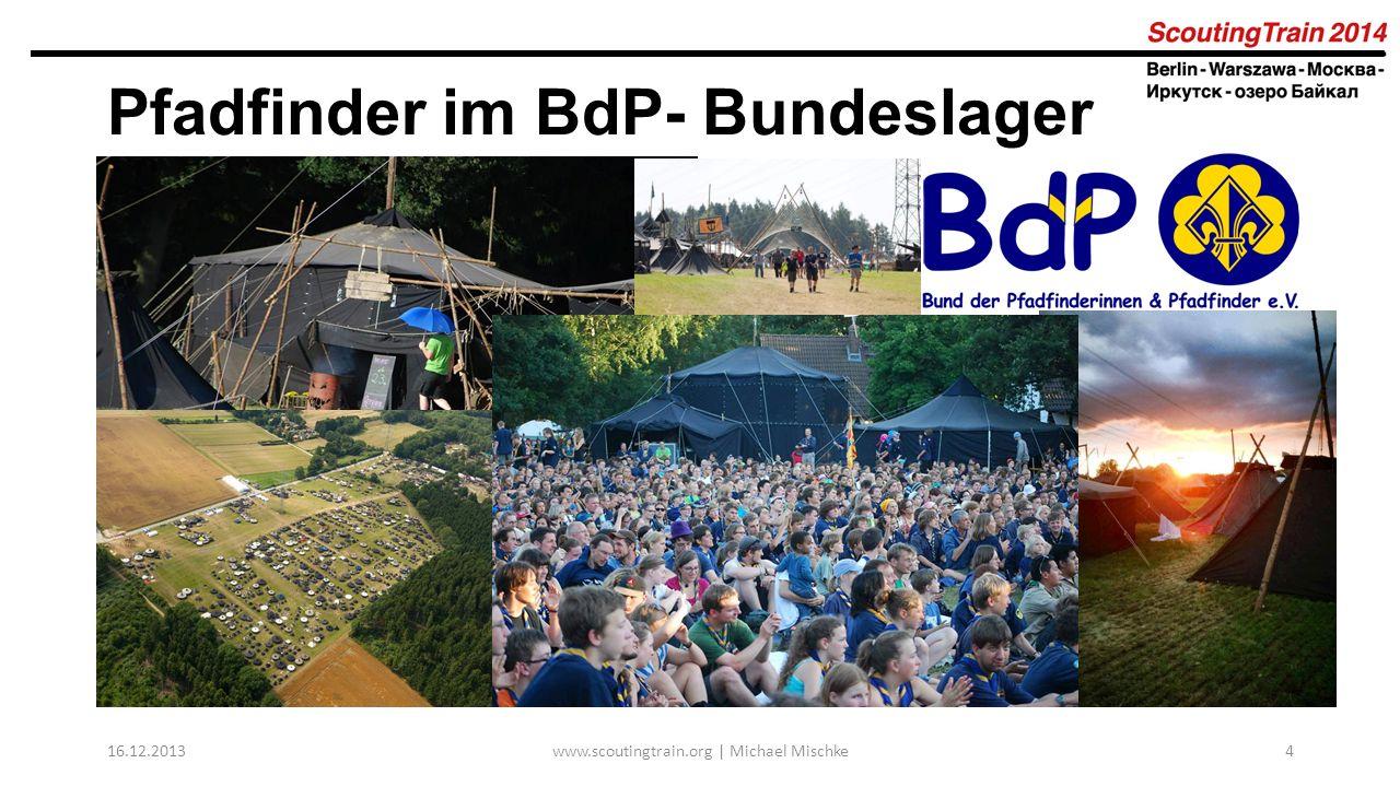 Pfadfinder im BdP- Bundeslager 2013