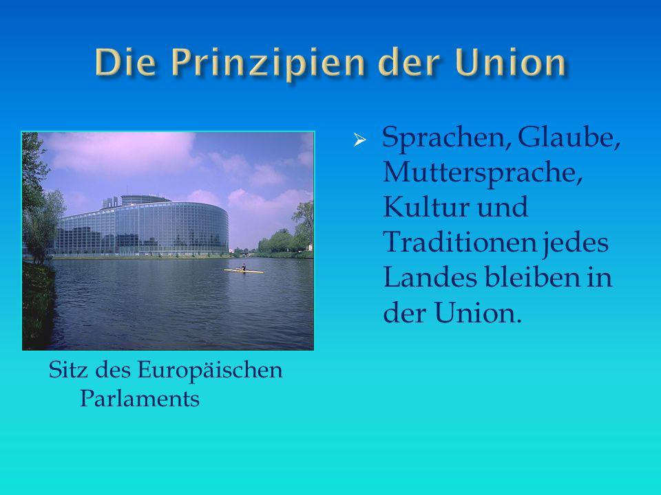 Die Prinzipien der Union