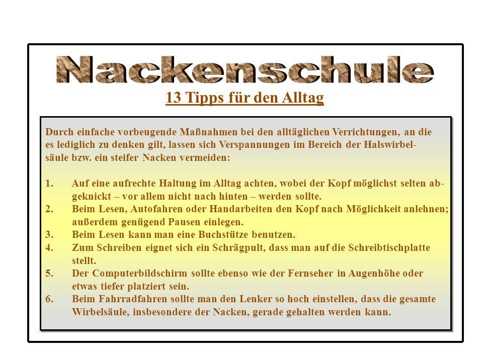 nackenschule die wirbels ule und ihre kr mmungen ppt video online herunterladen. Black Bedroom Furniture Sets. Home Design Ideas