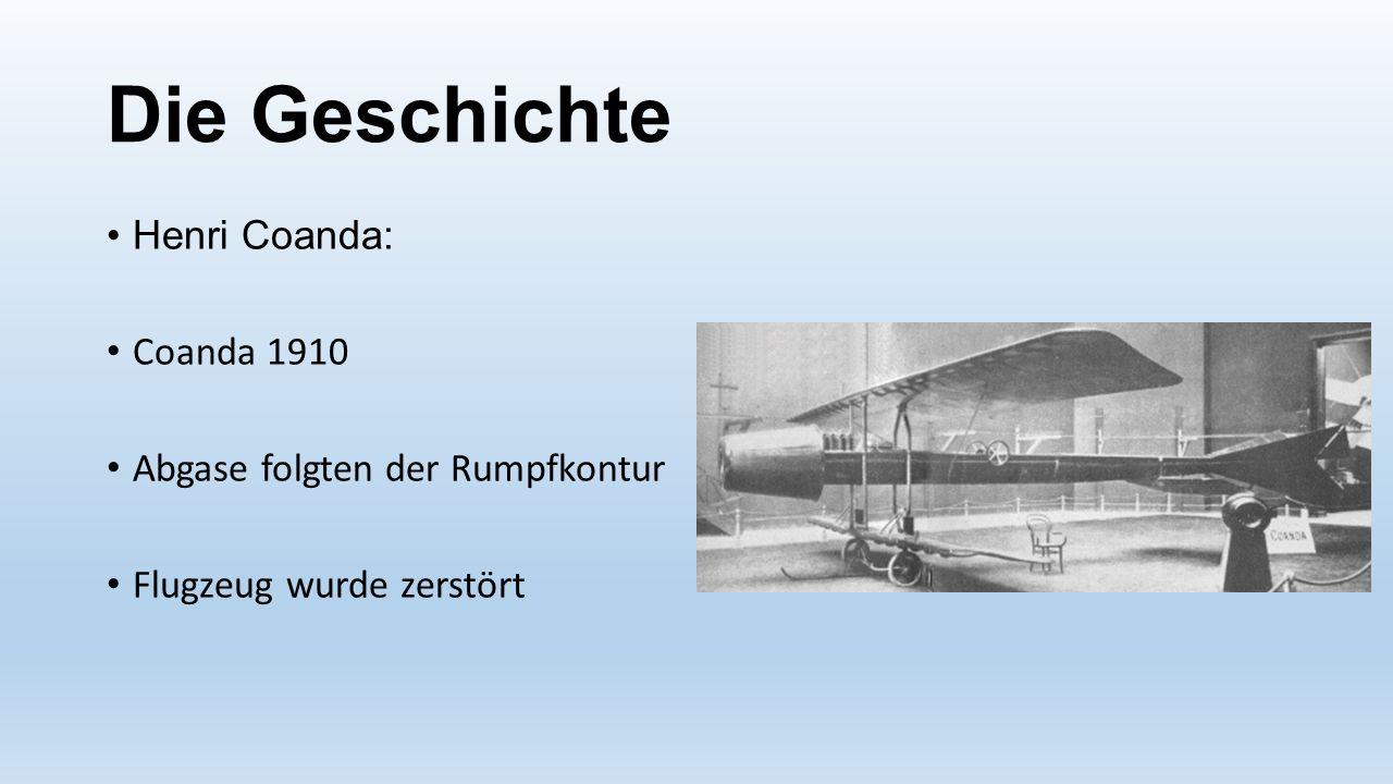 Die Geschichte Henri Coanda: Coanda 1910