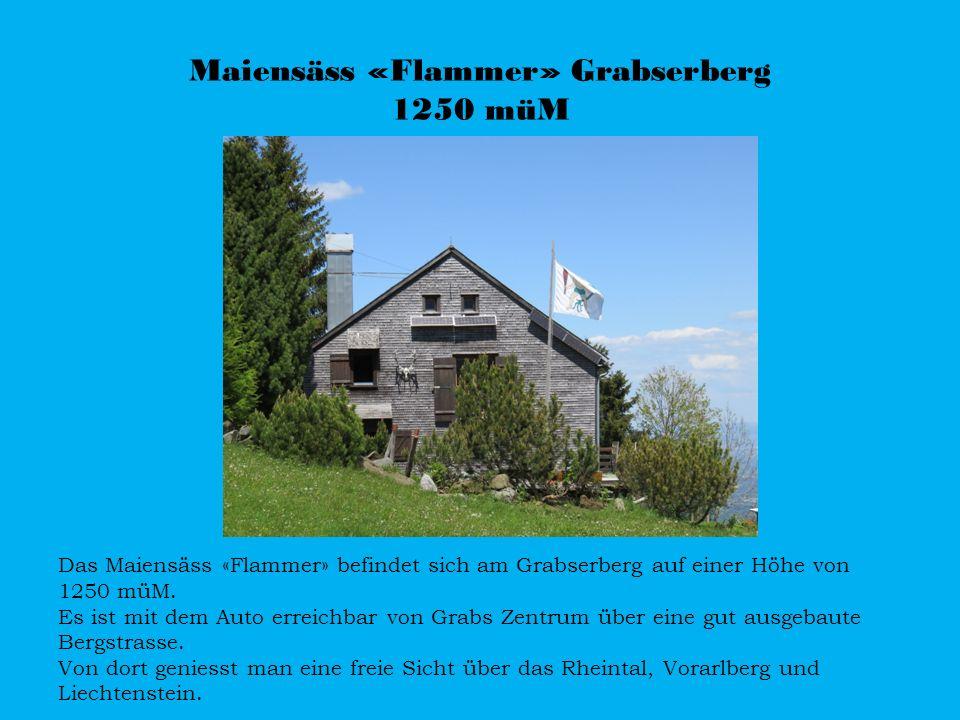 Maiensäss «Flammer» Grabserberg 1250 müM