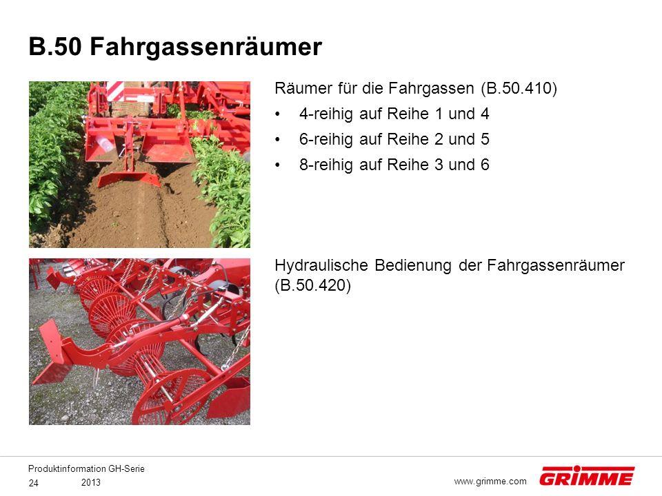 B.50 Fahrgassenräumer Räumer für die Fahrgassen (B.50.410)