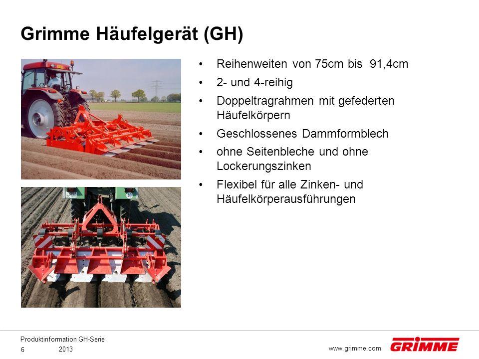 Grimme Häufelgerät (GH)
