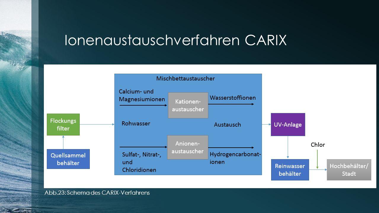 Ionenaustauschverfahren CARIX