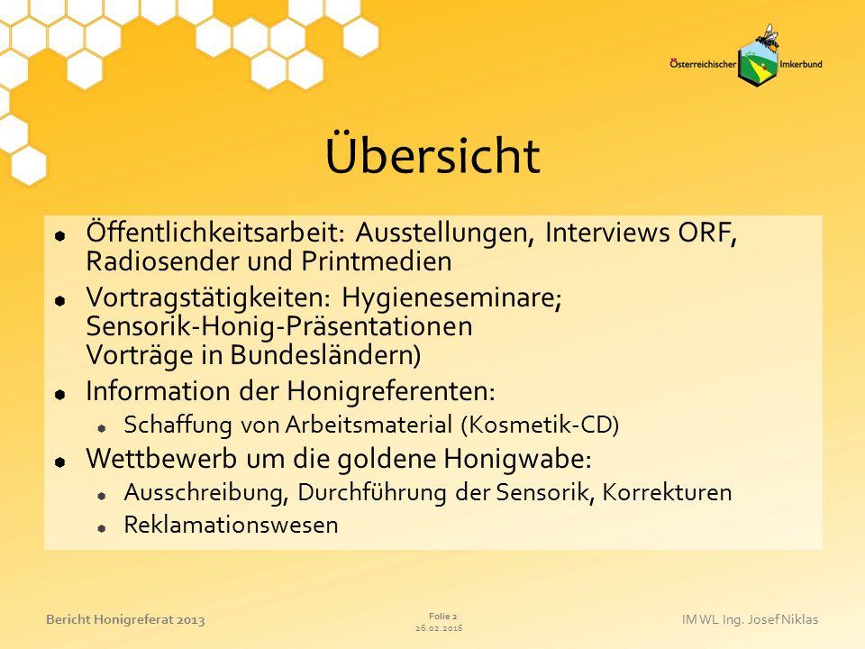 Übersicht Öffentlichkeitsarbeit: Ausstellungen, Interviews ORF, Radiosender und Printmedien.