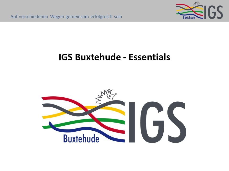 IGS Buxtehude - Essentials