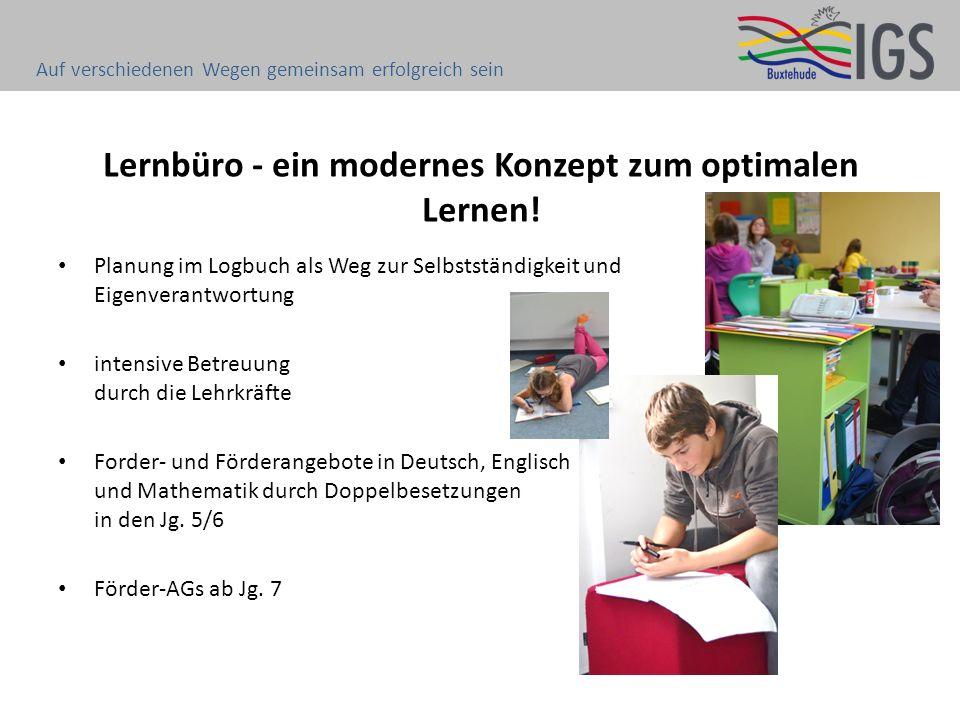 Lernbüro - ein modernes Konzept zum optimalen Lernen!