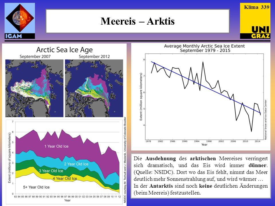 Klima 339 Meereis – Arktis.
