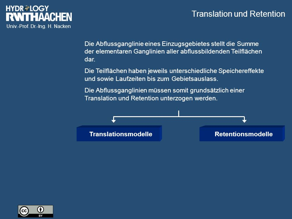 Translation und Retention