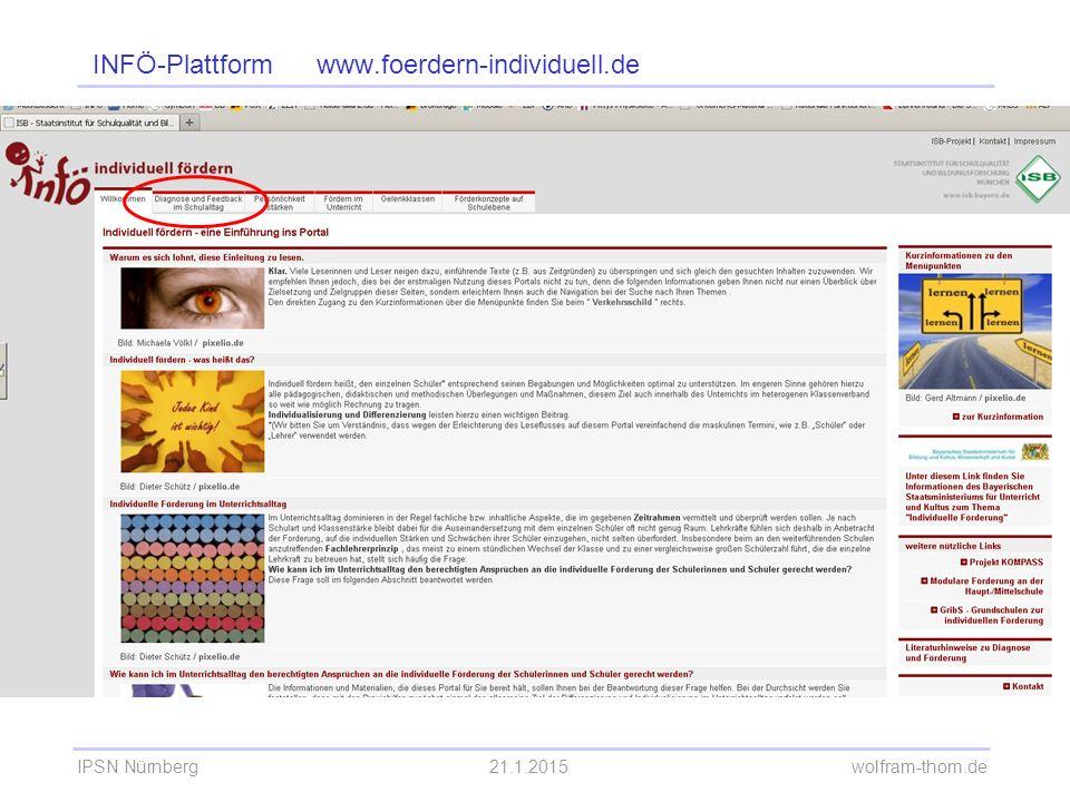 INFÖ-Plattform www.foerdern-individuell.de