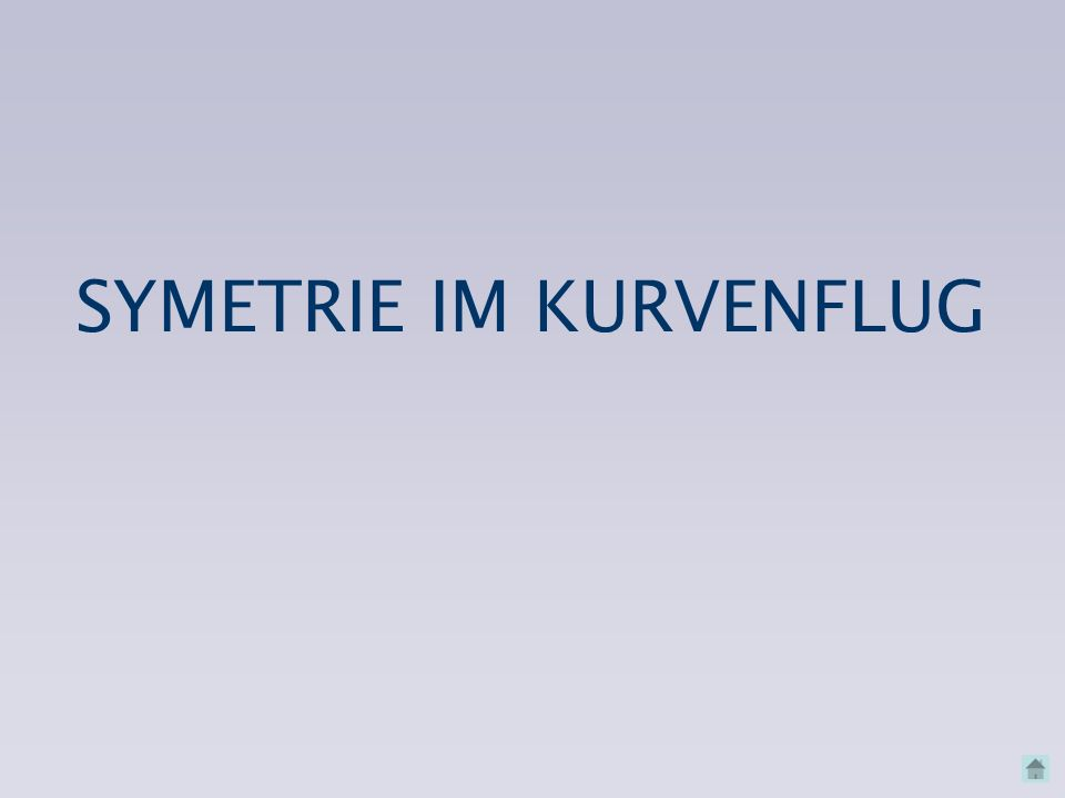SYMETRIE IM KURVENFLUG
