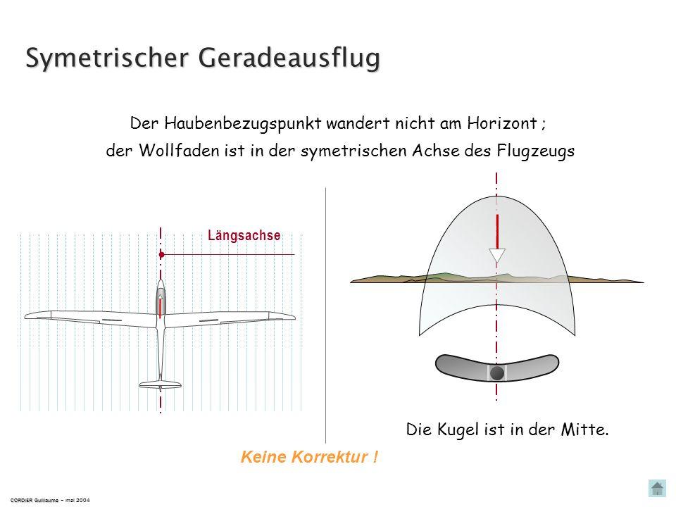 Symetrischer Geradeausflug