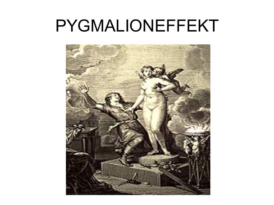 PYGMALIONEFFEKT