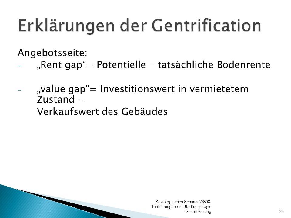 Folgen der Gentrification