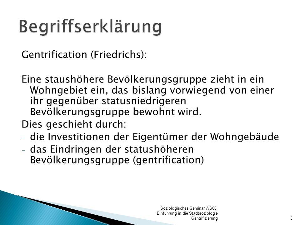 Begriffserklärung Definition (Friedrichs):