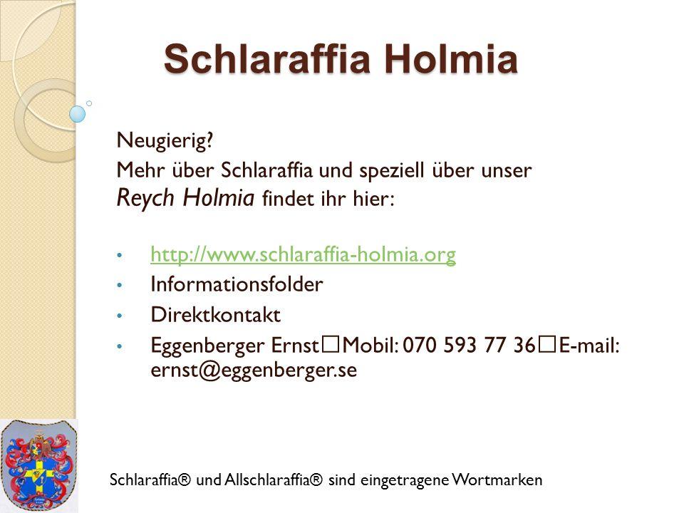 Schlaraffia Holmia Neugierig